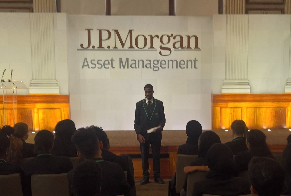 JP Morgan Mentoring Project at Evelyn Grace Academy   Evelyn Grace